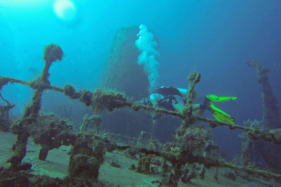 Un día de buceo en el Mar Caribe